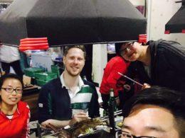 Sharing Dinner in Chengde