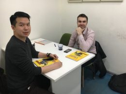 Teacher Alex in Shanghai