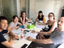 Small group class with Teacher Sofia