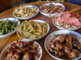 Homestay Food in Chengde