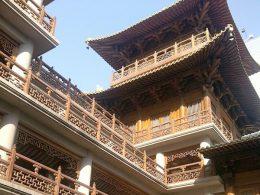 A sunny day in Shanghai