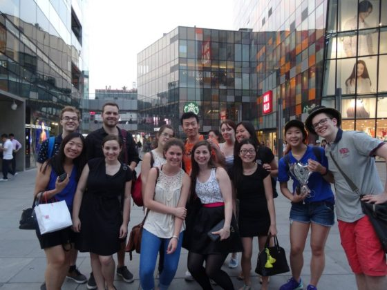 Shopping trip to Sanlitun, Beijing