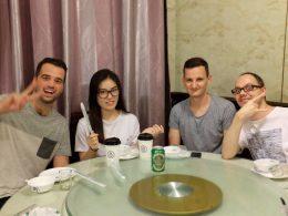 Sampling Chinese cuisine