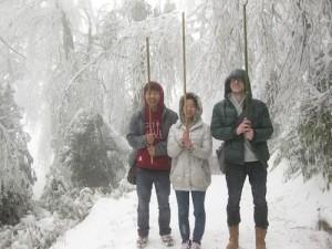 Snowy exploration!