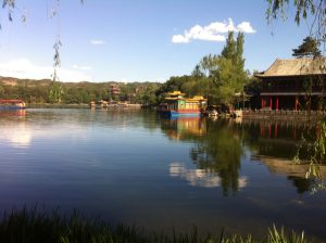 The Imperial Summer Gardens in Chengde.