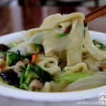 Long Yan (蛋燕) egg noodles are typical in Fuzhou.