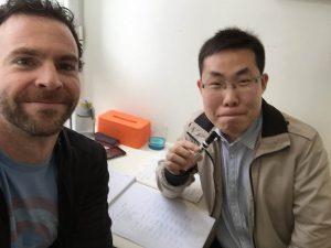 With Alwin Feng, my teacher at LTL