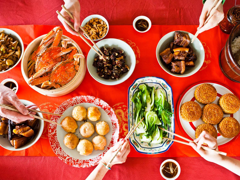 Moon Festival Feast - Delicious!
