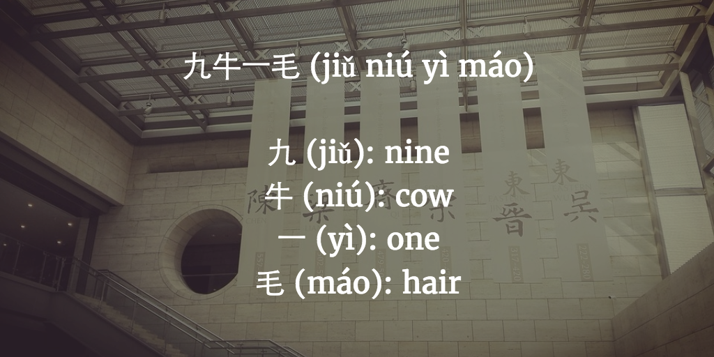 Chinese Chengyu