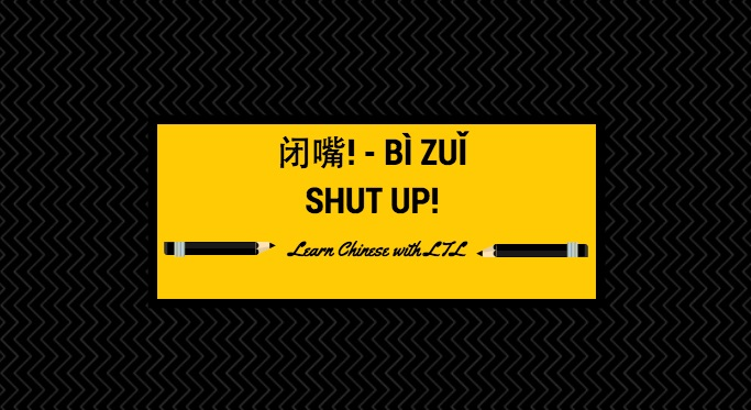 Learn how to fight back in Chinese